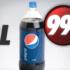 Bouteille 2 L de Pepsi ou de Coca Cola à 99¢