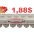 Chez Pharmaprix, Douzaine d'oeufs gros calibre à 1,88$
