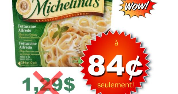 Repas surgelés Michelina's à 84¢