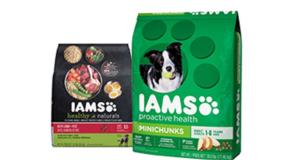 Rabais de 4$ sur la nourriture pour chien Iams