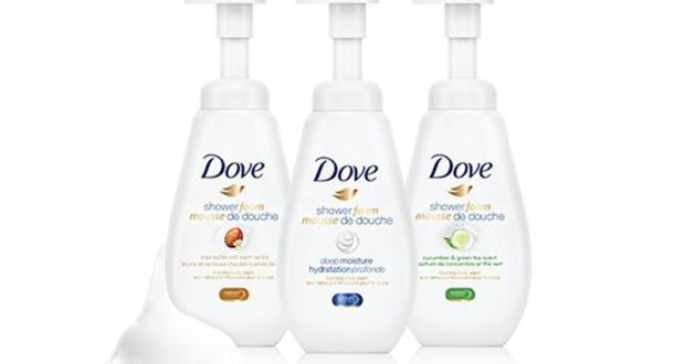 Produits mousse de douche Dove à 2.99$