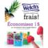 1$ de rabais sur les produits fruits congelés Welch's