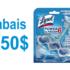 Coupon de 1.50$ sur un nettoyant pour cuvette automatique Lysol Power & Fresh
