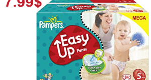 Emballage de couches Pampers ou culottes Easy Ups à 7.99$