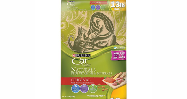 Coupon de 2$ sur un produit Purina Cat Chow Naturel