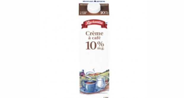 Crème à café Lactantia 1L à 2$