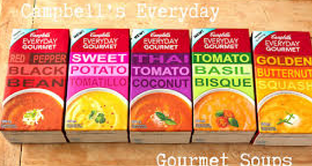 Soupe Campbell's Everyday Gourmet à 1$
