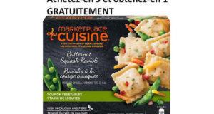 Achetez 3 emballages Marketplace Cuisine et obtenez-en un gratuitement