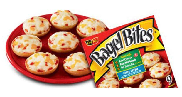 Bagel Bites Heinz emballage de 9 à 1$