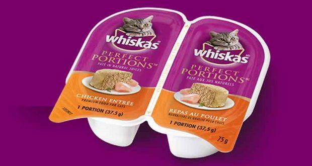 Coupon de gratuité Whiskas Perfect Portions