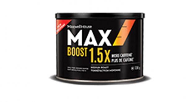 Coupon de 1$ sur le nouveau café MAX Boost R&G