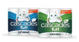 Emballage de 6 rouleaux de papier essuie-tout Cascades Tuff à 2,88$