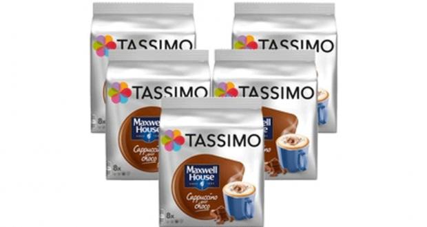 Café en portions individuelles Tassimo à 3,99$