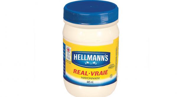 Mayonnaise Hellmann's 445mL à 2$