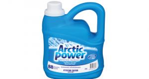 Détergent pour la lessive Arctic Power 88 brassées à 4.99$