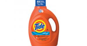 Détergent à lessive Tide à 2,47$