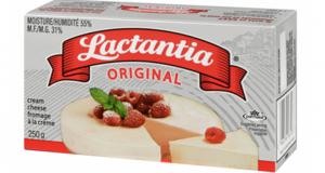 Fromage à la crème Lactantia Original à 1.50$