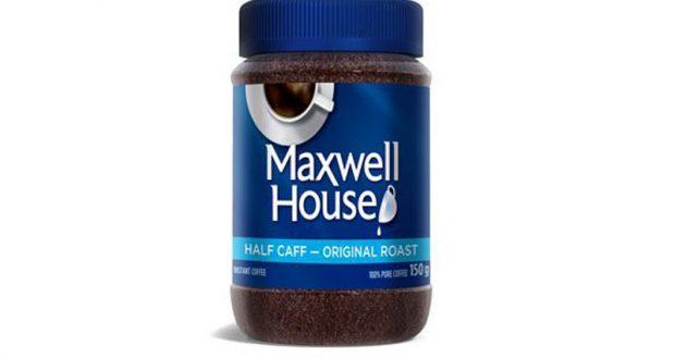 Café instantané Maxwell House à 2.77$
