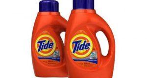 Détergent à lessive Tide à 1.48$
