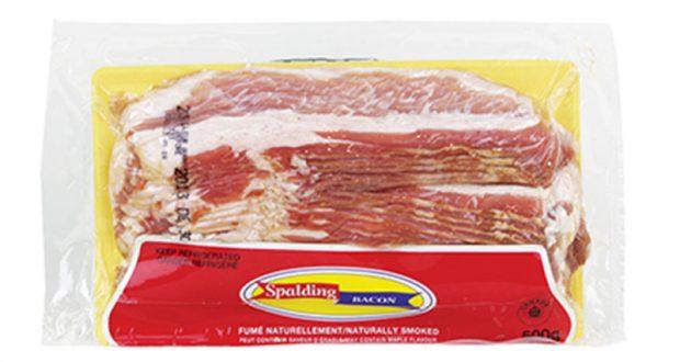 Emballage de bacon Spalding 500g à 1,88$