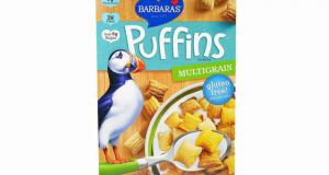 Coupon de 1$ sur une boîte de céréales Barbara's Puffins