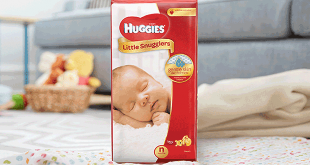 Coupon de 2$ sur un paquet de Huggies Little Movers