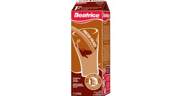 Lait au chocolat Beatrice 1L à 88¢