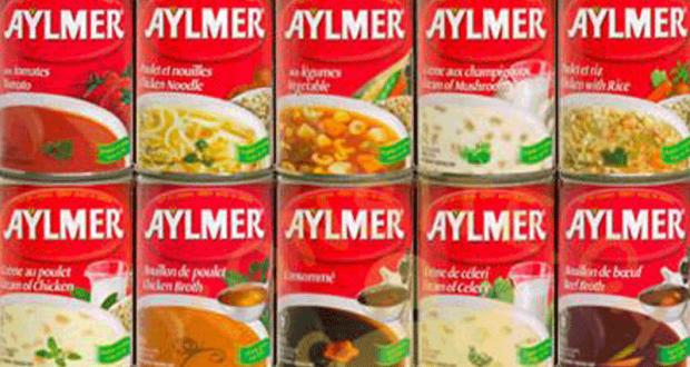 Soupe Aylmer à 37¢ seulement