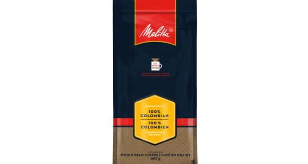 Coupon de 2$ Sur un produit au Café en Grains de Melitta