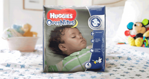 Coupon de 2$ à l'achat d'un paquet de couches Huggies Overnites
