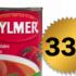Soupe aux tomates Aylmer à 33¢ chez metro