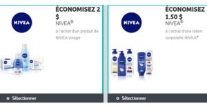 Économisez 3,50 $ sur les produits Nivea
