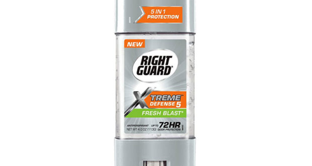 Déodorant Right Guard à 77¢