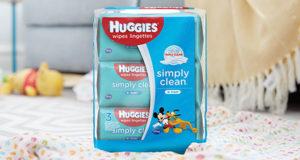 Coupon de 1,50 $ à l'achat de 2 emballages de Huggies Wipes