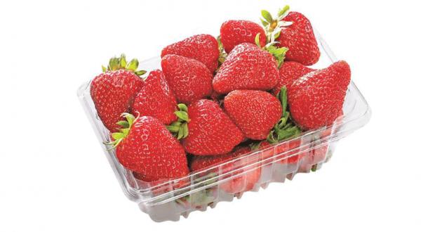 Panier de fraises à 1,67$