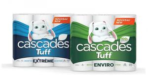 Emballage de 6 rouleaux Jumbo de papier essuie-tout Cascades Tuff à 2,99$