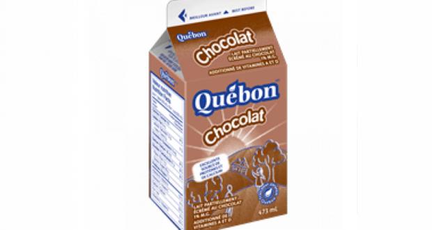 Lait au chocolat Québon ou Natrel à 0.75$