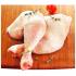 1 livre de cuisses de poulet frais avec dos à 99¢