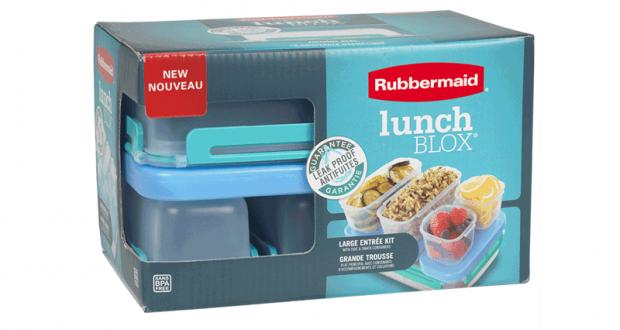 Coupon de 2$ - LunchBLOX de Rubbermaid