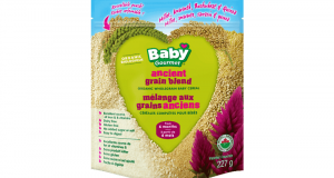 Coupon de 1$ sur l'emballage de céréales Baby Gourmet